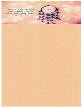 NEW Leap Of Faith Letterhead Stationery Paper 26 Sheets [Office Product] - $9.89