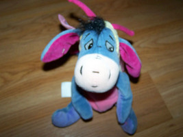 Disney Store Winnie the Pooh Easter Butterfly Eeyore Bean Bag Plush Donk... - $18.00