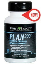 PLAN 200 by Purity Products - 60 Capsules [Health and Beauty]