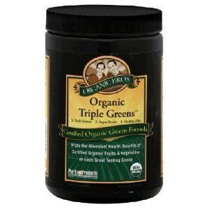 Certified Organic Triple Greens by Purity Products - 300g [Health and Beauty]