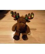 Build A Bear Workshop BABW Christmas Holiday Moose Hal Light Up Antlers EUC - $28.00