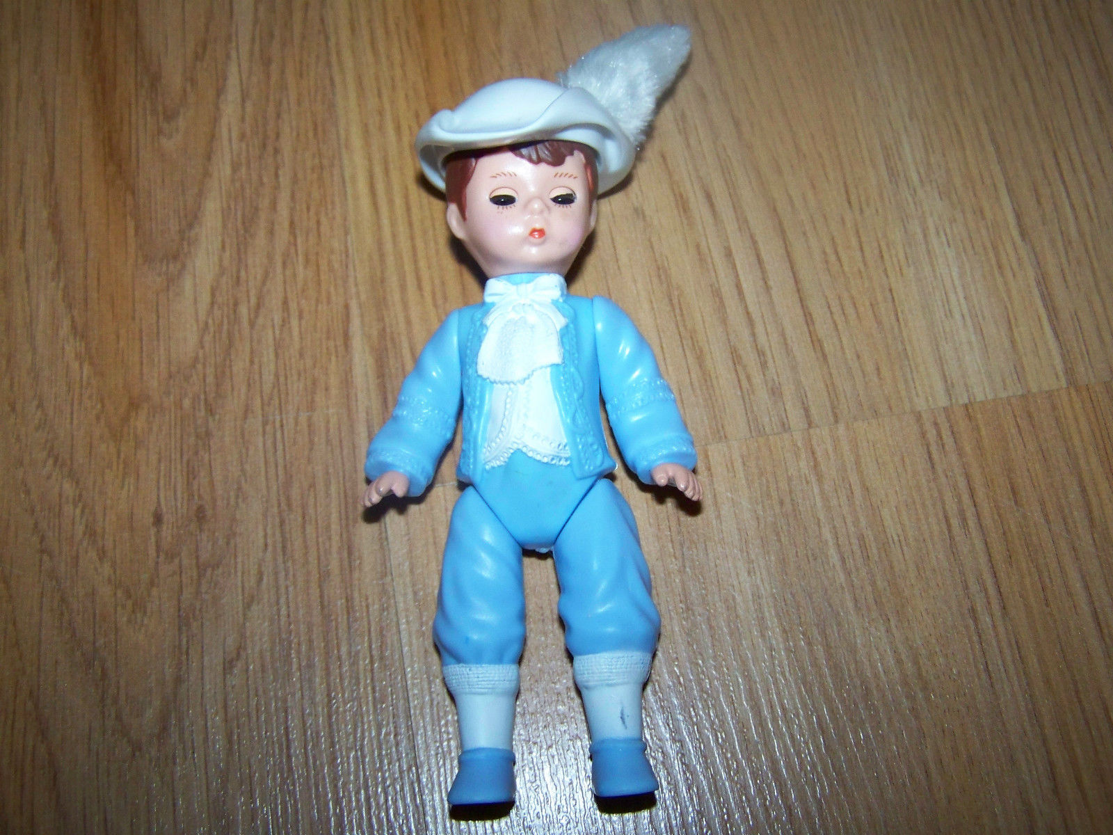 Primary image for Madame Alexander Prince Charming Boy Doll McDonalds PVC Figure Toy #4 2010