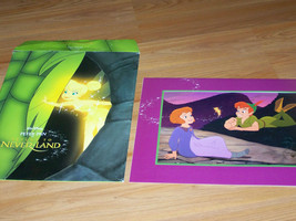 Disney Store Exclusive Commemorative Gold Seal Lithograph Peter Pan Never Land  - $22.00