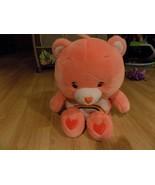 "Extra Large Jumbo 26"" Care Bear Plush Cheer Bear Pink Rainbow Tummy 2002... - $65.00"