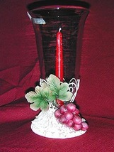 Grape Design Candleholder - $15.95