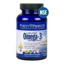 Ultra Pure Omega-3 Super Formula by Purity Products - 90 Softgels [Misc.] - $53.84
