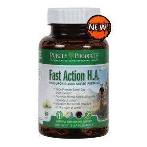 Fast Action H.A. Super Formula by Purity Products - 60 Tablets [Misc.]