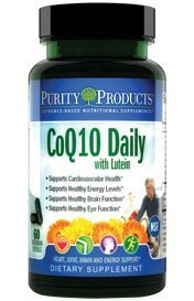 Co-Q-Max with Lutein by Purity Products - 60 Vegetarian Capsules [Misc.]