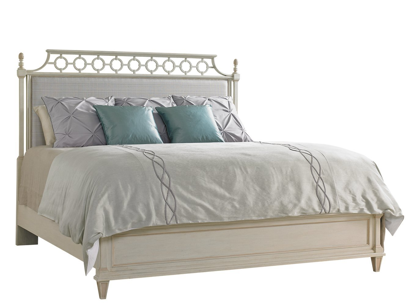 Preserve Upholstered Bed in Orchid by Stanley Furniture