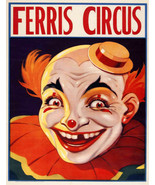 Decoration Poster.Home room art.Interior design.Circus Horror scary Clown.7448 - $11.30 - $46.75