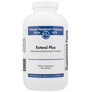 VRP - Extend Plus - 360 capsules - Vitamin Research Products [Health and Beauty]