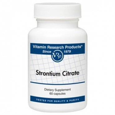Strontium Citrate 340 mg 60 caps [Health and Beauty]
