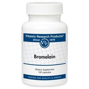 Bromelain - 100 capsules [Health and Beauty]