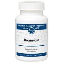 Bromelain - 100 capsules [Health and Beauty] - $19.48