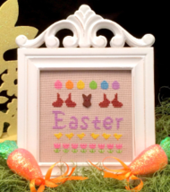 CLEARANCE Easter Celebration Kit cross stitch kit Flowers 2 Flowers - $7.00