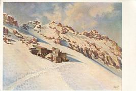 Germany, Schneefernerhaus auf der Zugspitze, nach einem Gemalde von R. K... - $7.99