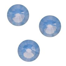 SWAROVSKI ELEMENTS Crystal Flatback Rhinestones #2058 SS30 Air Blue Opal... - $7.92