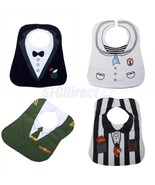4pcs Baby Infant Toddler Boys Feeding Bibs Sali... - $12.11
