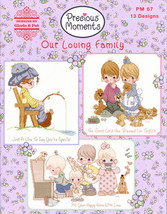 CLEARANCE Our Loving Family cross stitch booklet Gloria & Pat  - $10.00
