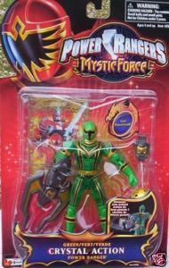Power Rangers Mystic Force Green CRYSTAL Action Figure NEW in Package Generic