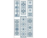Victorian blue bookmarks 2 3094 thumb155 crop