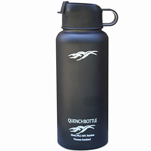 Quench Bottle 32oz Double Wall Vacuum Insulated Stainless