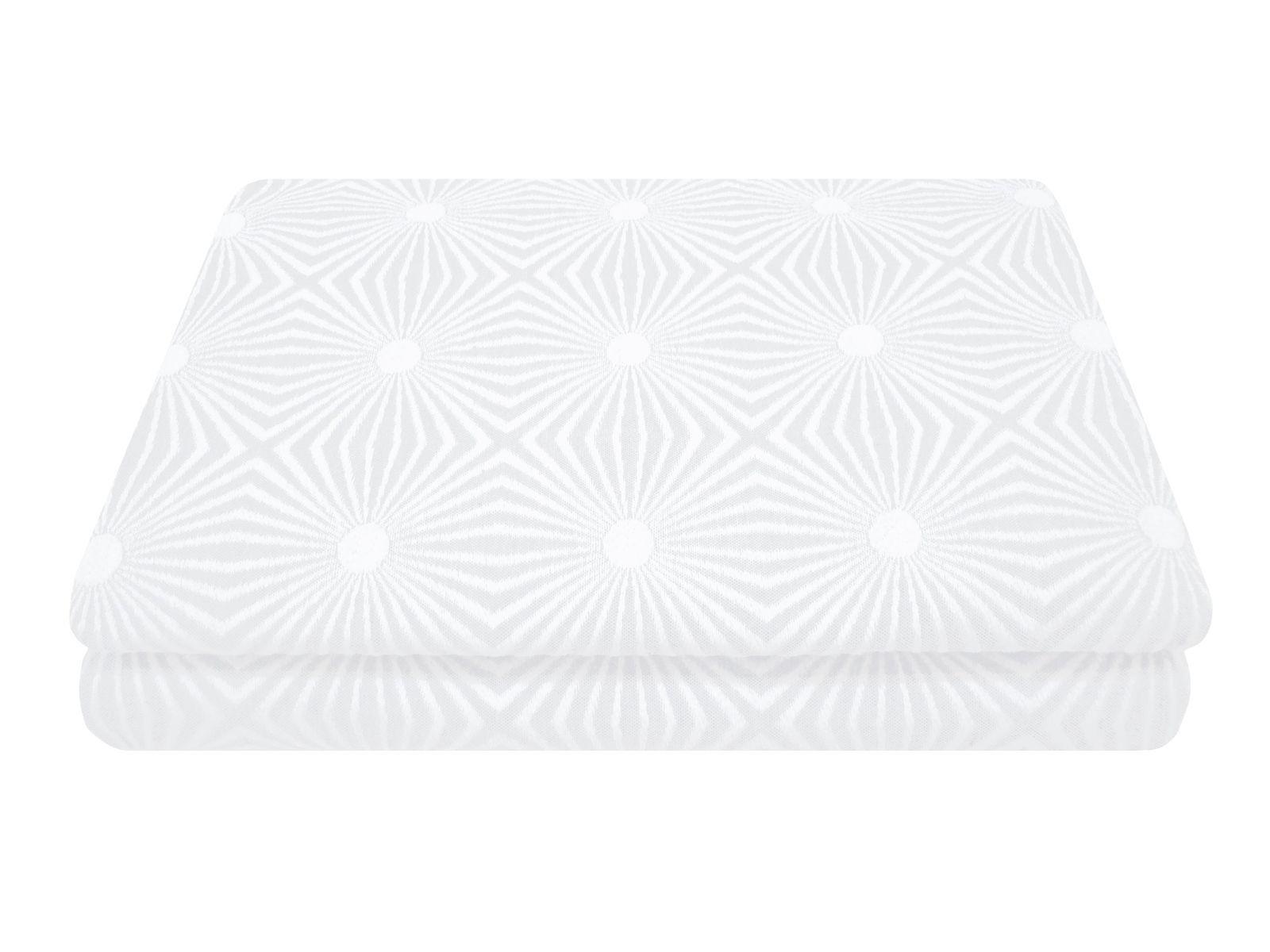 Belle Epoque Estrela Coverlet Twin White/White - $37.07
