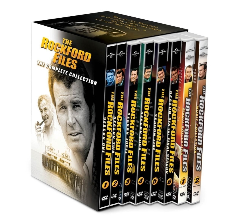 The Rockford Files The Complete Series Season One-Six 1-6 (DVD 2015 34-Disc Set)