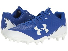 Under Armour Low Football Cleats Men's 14 Nitro Select Blue New - $22.99