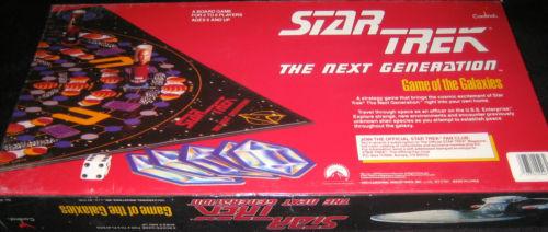 Star Trek The Next Generation Game of the Galaxies NIB 1993