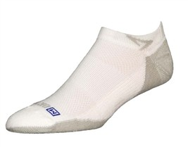 Drymax Sport Lite Mesh Mini Crew Socks - XL - White - D03234 - $10.50