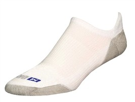 Drymax Running No Show Tab Socks - XL - White - D07534 - $11.50