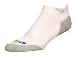 Drymax Run Mini Crew Socks - Large - White - D07733 - $11.75