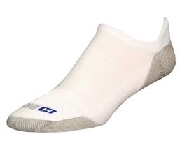 Drymax Running No Show Tab Socks- Large - White - D07533 - $11.50