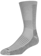 Drymax Hiking Crew Socks - Medium - Grey - D70502 - $15.00