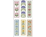 Floral bookmarks 2298 thumb155 crop