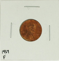 1939 United States Lincoln Wheat Penny Rating (F) Fine - $0.11