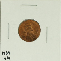 1939 United States Lincoln Wheat Penny Rating (VG) Very Good - $0.10