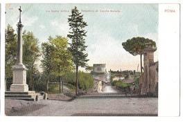 Italy Rome Appian Way Tomb Cecilia Metella Via Appia Vtg C Blumlein UND ... - $4.99