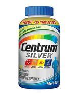 275 Tabs Centrum Silver Men 50+ Multivitamin Multimineral Supplement Vit... - $14.99