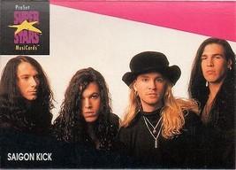 SAIGON KICK 1991 PRO SET MUSIC CARDS # 228 - $1.24