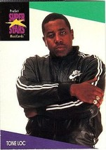 TONE LOC 1991 PRO SET MUSIC CARDS # 137 - $1.24