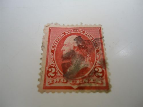 Old US 2c two cent Washington Stamp 1890-1893