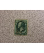 Vintage Green USA 3 cent Stamp - $13.51