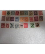 Lot of 26 Assorted Unused Germany Stamps 1920-1923 Make Offer - $44.69