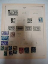 Vintage Italy Postage Stamps 1923-1925 On Page Lot of 15 - $8.99