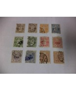 Collection of 12 Old 1913-1919 Japanese Postage Stamps - Make an Offer - $22.65