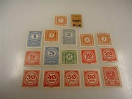 Lot of 17 Assorted Vintage Austrian Stamps Unused - Make Offer - $11.72