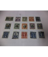 Lot of 15 Old 1900-1930 Chilean Postage Stamps from Chile - Make an Offer - $26.47