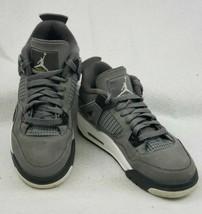 Nike Air Jordan 2019 Retro 4 GS Cool Grey 408452-007 Size 6y 7.5 Women's - $118.77